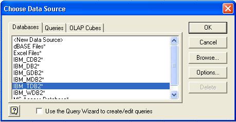 Excel Choose Data Source